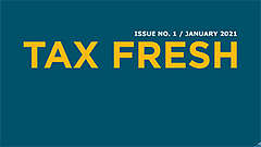 New Tax Fresh 1 / 2021
