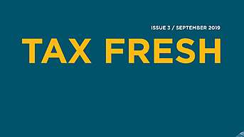 New Tax Fresh 3 / 2019
